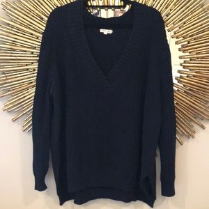 Urban Outfitters Navy Sweater